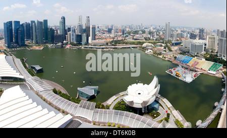 Marina Bay, Singapore - Stock Photo