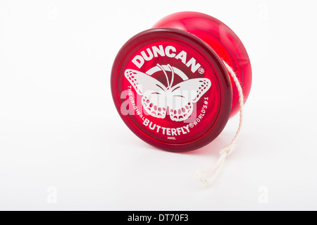 Duncan Butterfly Yoyo yo-yo iconic children's toy - Stock Photo