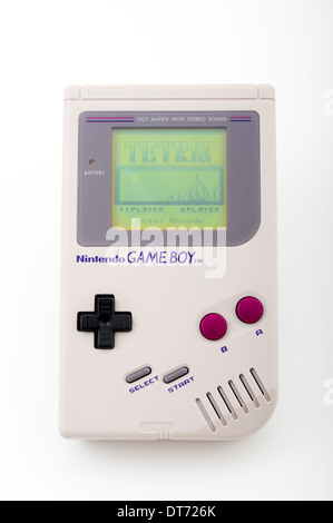 Nintendo Game Boy handheld video game device 1st edition 1989 - Stock Photo