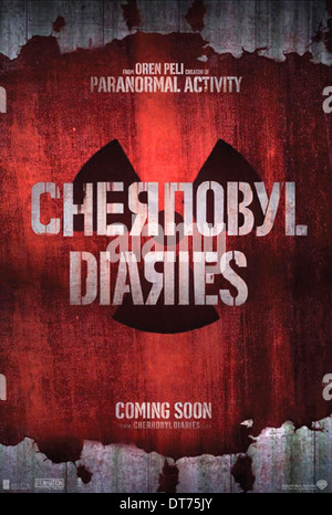 MOVIE POSTER CHERNOBYL DIARIES (2012) - Stock Photo