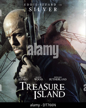 Who is the villainous pirate in the book treasure island