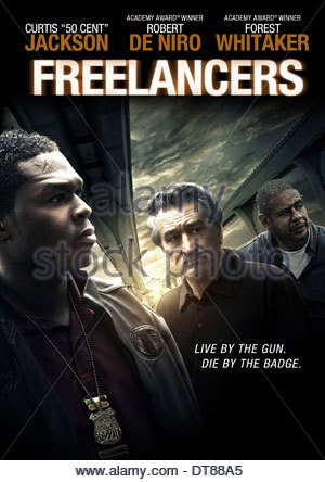 50 Cent Forest Whitaker Crossfire Freelancers 2012 Stock Photo