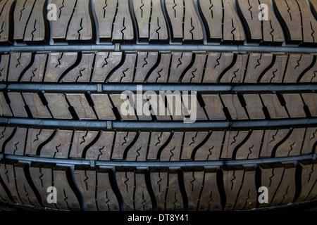 Tire detail - Stock Photo