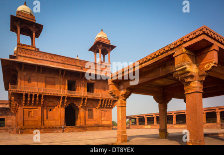 Fatehpur Sikri is a city and a municipal board in Agra district in the state of Uttar Pradesh, India. - Stock Photo
