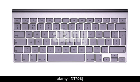 A cut out shot of an Apple keyboard - Stock Photo