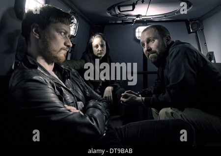 JAMES MCAVOY, ANDREA RISEBOROUGH, JOHNNY HARRIS, WELCOME TO THE PUNCH, 2013 - Stock Photo