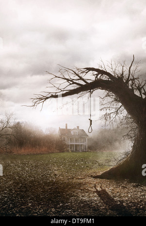 HANGMAN'S NOOSE THE CONJURING (2013) - Stock Photo