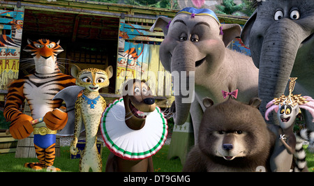 KING JULIEN XIII MADAGASCAR 3: EUROPE'S MOST WANTED (2012