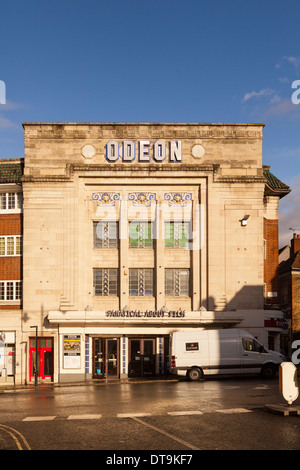 Odeon Cinema in Richmond Upon Thames,Greater London,England - Stock Photo