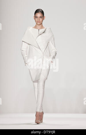 New York, USA. 12th Feb, 2014. KaufmanFranco fall winter 2014 runway at New York fashion week. Credit:  rudy k/Alamy - Stock Photo