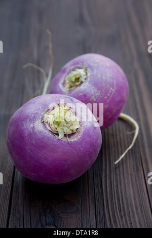 May turnips, organic vegetable - Stock Photo