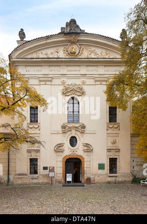 Prag, Kloster Strahov, Bibliothek - Stock Photo