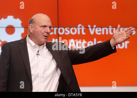 Berlin, Germany, the outgoing Microsoft CEO Steve Ballmer - Stock Photo