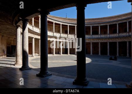Granada, Alhambra - Stock Photo