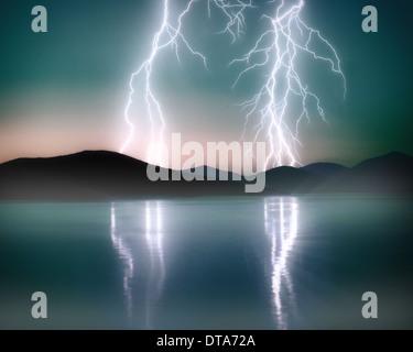 GB - OUTER HEBRIDES: Sound of Taransay - Stock Photo