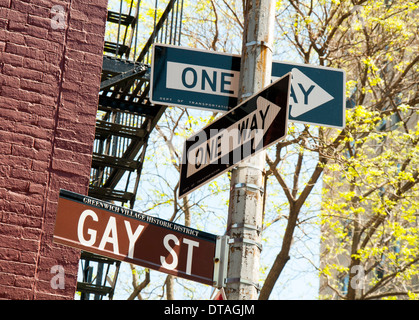 New york city gay-aansluiting