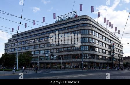 Wroclaw Breslau, ehem Kaufhaus Wertheim - Stock Photo
