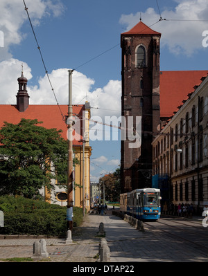 Wroclaw Breslau, Sandinsel - Stock Photo
