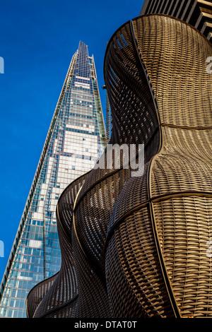 Modern Architecture London England modern architecture (the boiler suit & shard), london, england