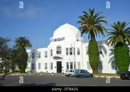 Defence Department Building, Rabat, Rabat-Salé-Zemmour-Zaer Region, Kingdom of Morocco - Stock Photo