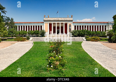 The National Archaeological Museum of Athens, Greece - Stock Photo