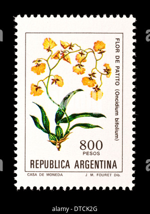 Postage stamp from Argentina depicting - Stock Photo