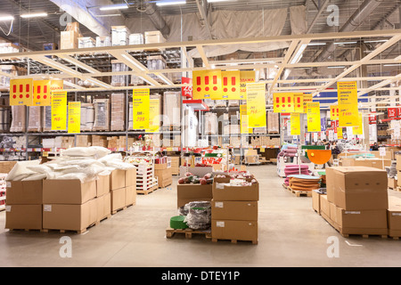 Furniture warehouse showroom stock photo royalty free for Furniture w sale warehouse