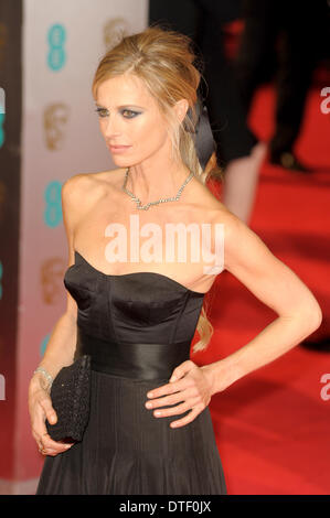 London, UK, 16/02/2014 : Red Carpet Arrivals at the EE British Academy Film Awards. Persons Pictured: Laura Bailey. - Stock Photo