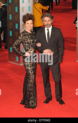 London, UK, 16/02/2014 : Red Carpet Arrivals at the EE British Academy Film Awards. Persons Pictured: Helen McCrory. - Stock Photo