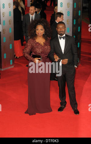 London, UK, 16/02/2014 : Red Carpet Arrivals at the EE British Academy Film Awards. Persons Pictured: Chiwetel Ejiofor. - Stock Photo