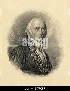 Jean-Baptiste Pierre Antoine Demonet de Lamarck (1744-1829) - Stock Photo