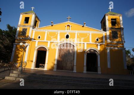 Church, Moyogalpa, Ometepe Island Nicaragua - Stock Photo