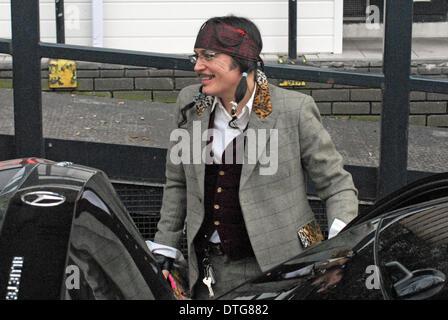 London, UK . 17th Feb, 2014. Adam Ant at ITV studios London 17/02/2014 Credit:  JOHNNY ARMSTEAD/Alamy Live News - Stock Photo