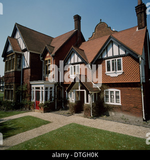 Exterior view of The Natural History Museum at Tring - Stock Photo