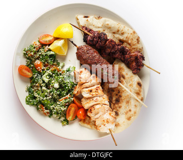mixed grill arabian style stock photo royalty free image 66748565 alamy. Black Bedroom Furniture Sets. Home Design Ideas