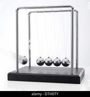 Newton's Pendulum - Stock Photo