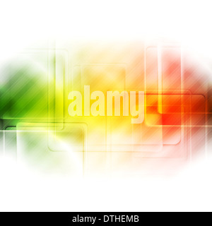 Abstract bright vector tech background - Stock Photo