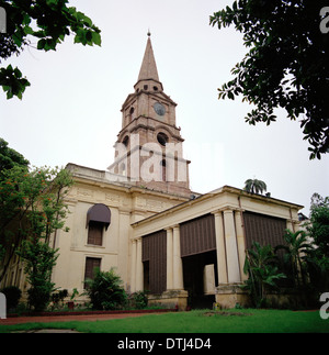 Saint John's Church in Kolkata Calcutta in West Bengal in India in South Asia. History Christian Religion Architecture - Stock Photo