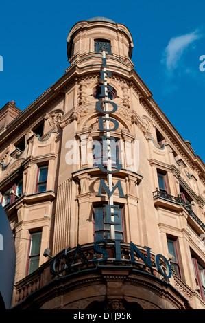 Hippodrome Casino, Leicester Square, London, Uk - Stock Photo