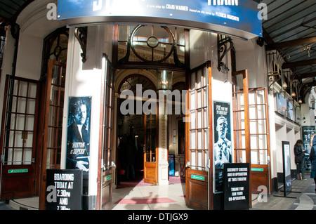 Gielgud theatre in Shaftesbury Avenue, London, WC2, UK - Stock Photo