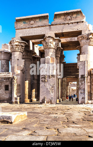 The Ancient Egyptian Temple at Kom Ombo. - Stock Photo