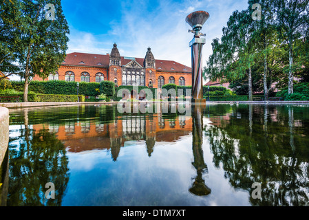 Danish Jewish Museum in Copenhagen, Denmark. - Stock Photo