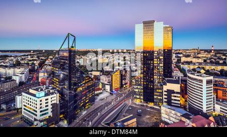 Tallinn, Estonia at the New City. - Stock Photo