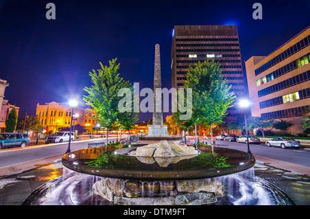 Pack Square in Asheville, North Carolina, USA. - Stock Photo