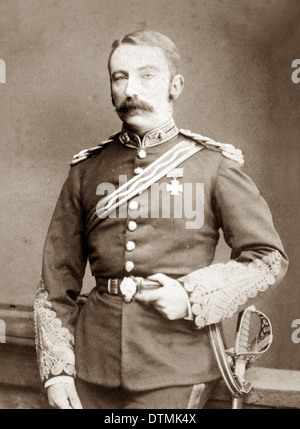 Lt.Col. John Rouse Merriott Chard VC, recipient of the Victoria Cross for valour at the battle of Rorke's Drift, - Stock Photo