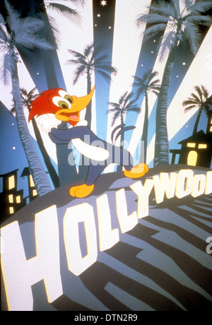 WOODY WOODPECKER  Cartoon character produced by Walter Lanz and distributed by Universal Studios and now by the - Stock Photo