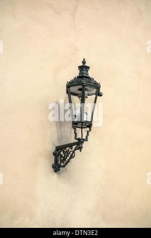 Old street light closeup - Stock Photo