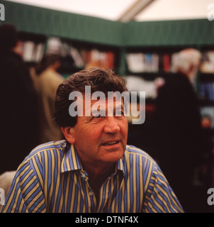 BBC Broadcaster and author Melvyn Bragg at the Hay Festival, Hay-on-Wye Wales UK  KATHY DEWITT - Stock Photo