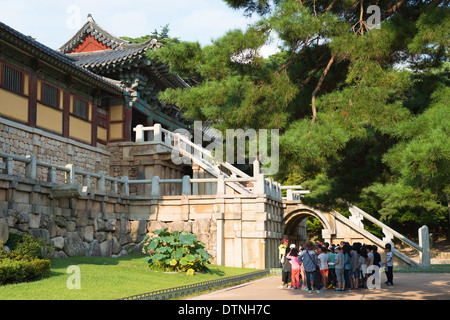 Bulguksa Temple, Kyongju, South Korea. - Stock Photo
