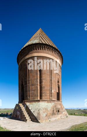 Hasan Padshah tomb, Ahlat, Lake, Van Eastern Turkey - Stock Photo